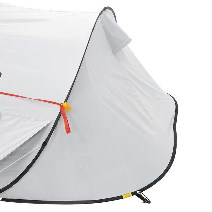 Pop up tent 2 Seconds 3 Fresh & Black I 3 personen wit - 192913
