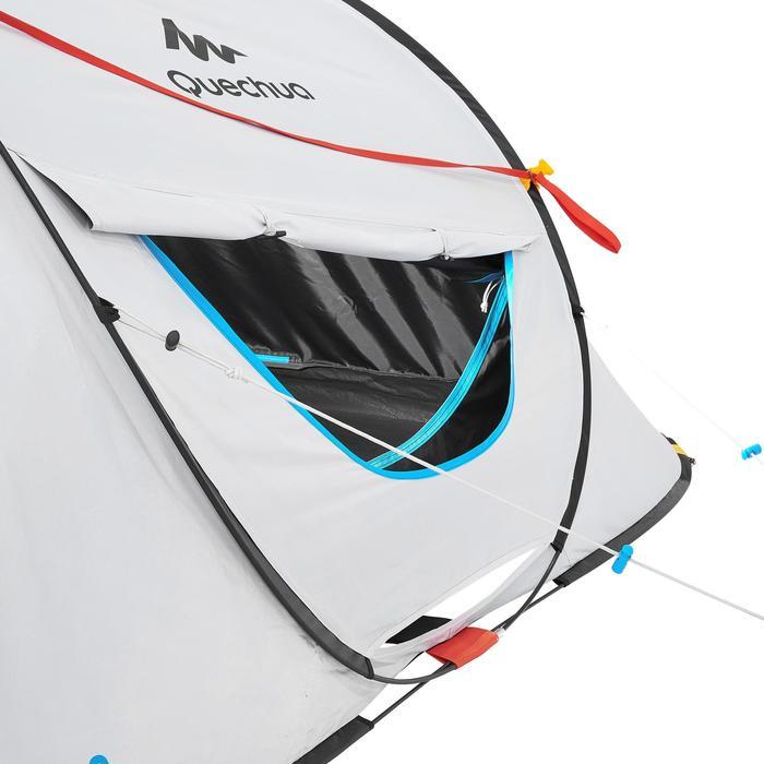 Pop up tent 2 Seconds 3 Fresh & Black I 3 personen wit - 192914