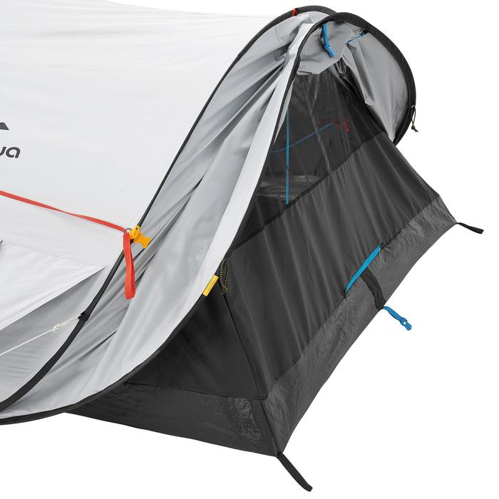 Pop up tent 2 Seconds 3 Fresh & Black I 3 personen wit - 192915