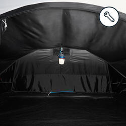 SLAAPCOMPARTIMENT VOOR DE QUECHUA-TENT 2 SECONDS EASY III FRESH & BLACK