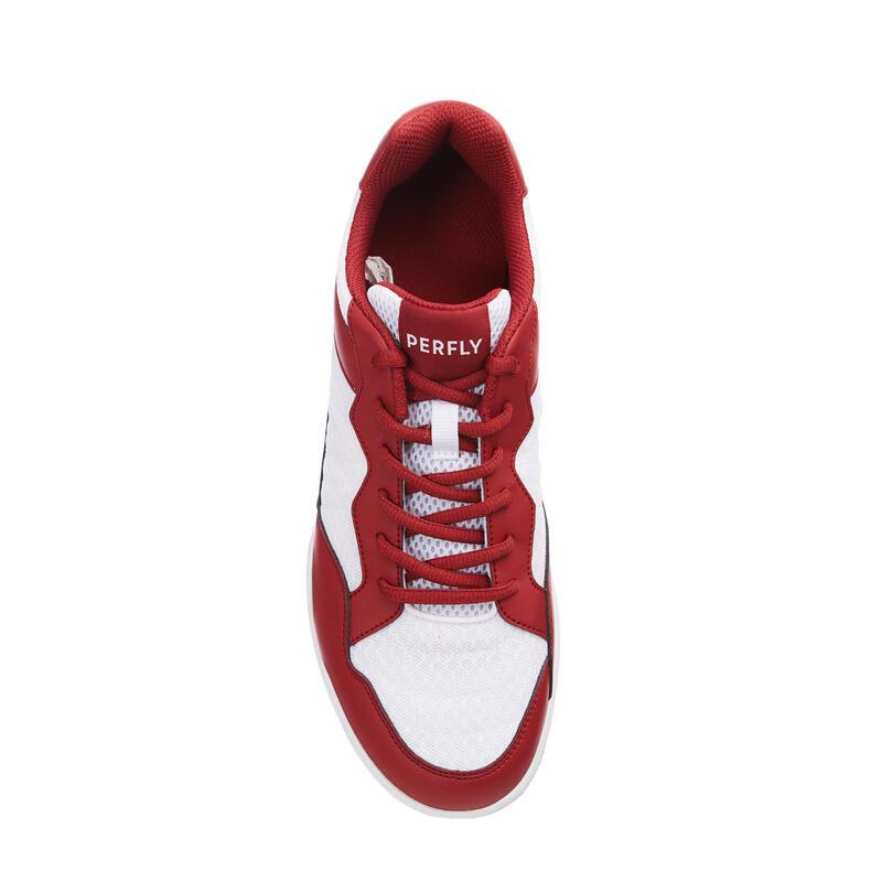 รองเท้าแบดมินตันสำหรับผู้ชายรุ่น BS 190 (สีแดง/ขาว)