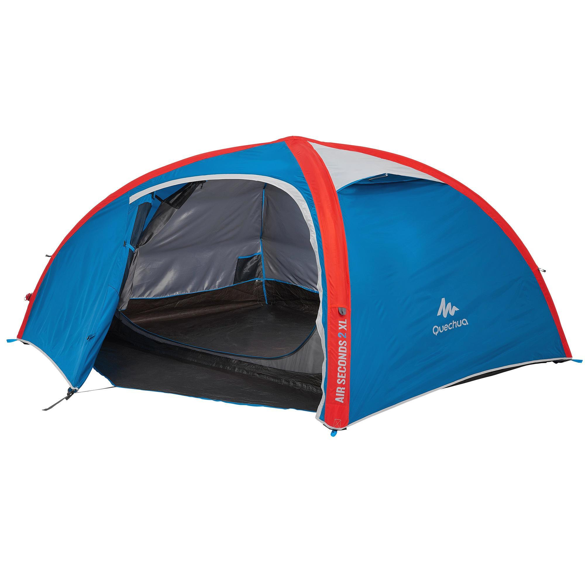 tente de camping air seconds xl 2 personnes quechua. Black Bedroom Furniture Sets. Home Design Ideas