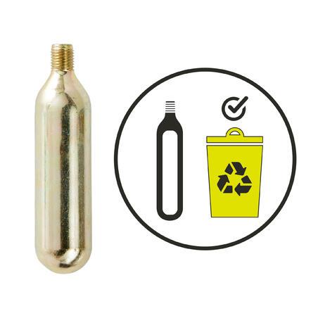 CO2 Compact Road Pump + 16g Cartridge