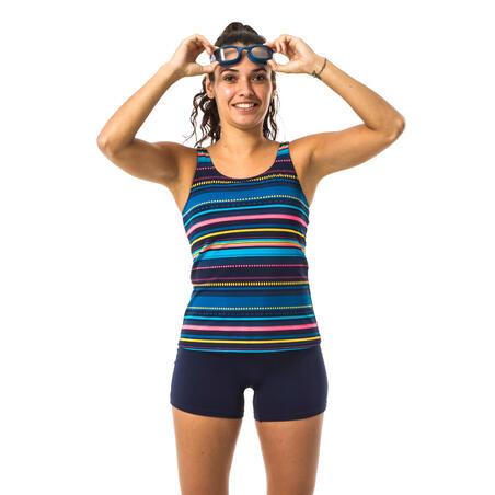 """Moteriškas vientisas maudymosi kostiumėlis """"Heva"""", """"Mexi"""" tamsiai mėlynas"""