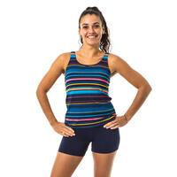 Women's one-piece tankini swimming swimsuit Heva Mexi - Navy
