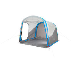 Shelter met deuren Air Seconds XL 6 personen SPF30 grijs - 193053