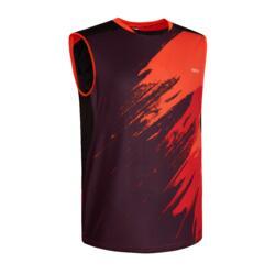 T-shirt de Badminton 560 Homem Vermelho escuro