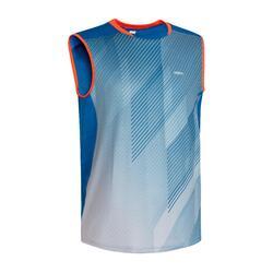T-shirt de Badminton 990 Homem Azul
