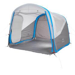 Shelter met deuren Air Seconds XL 6 personen SPF30 grijs - 193063