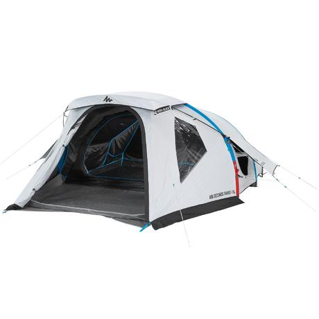 Air Seconds Family 4 XL 4-Person Family C&ing Tent - Freshu0026Black | Quechua  sc 1 st  Quechua & Air Seconds Family 4 XL 4-Person Family Camping Tent - Freshu0026Black ...