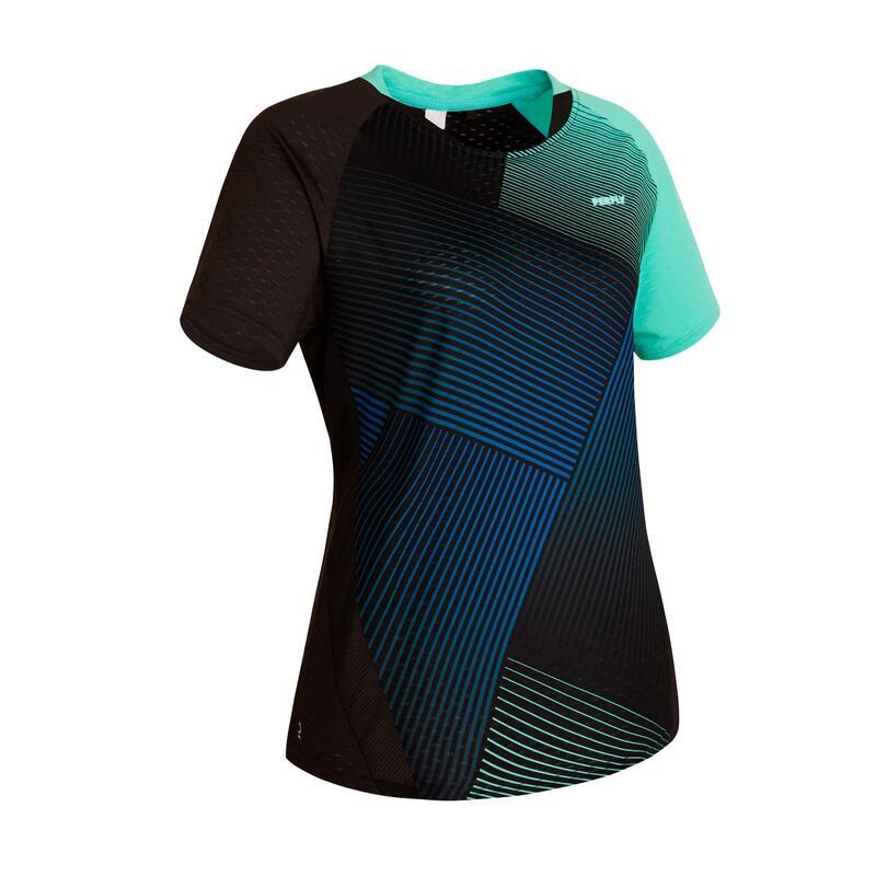 T-Shirt Femme 560 - Vert/Marine