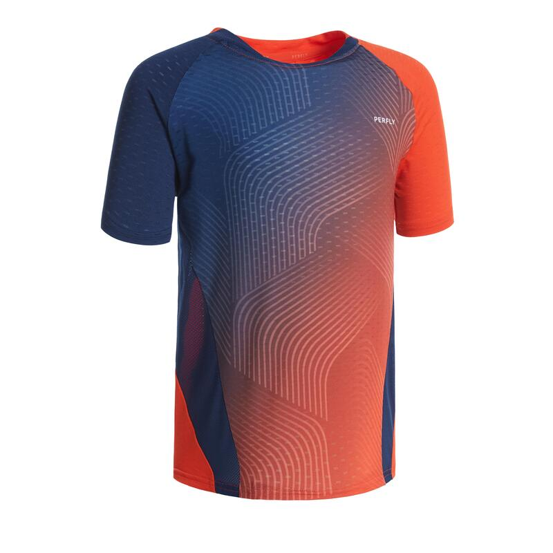 T-Shirt 560 JR - Rouge/Marine