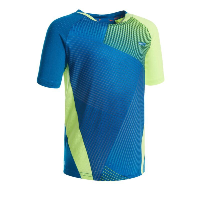 T-shirt 560 kind blauw geel