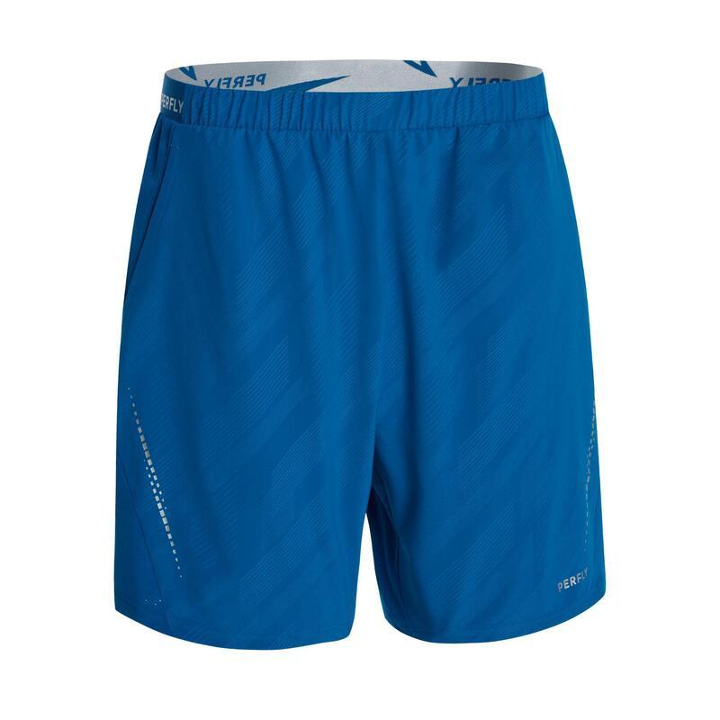 Şort Badminton 990 Albastru Bărbați
