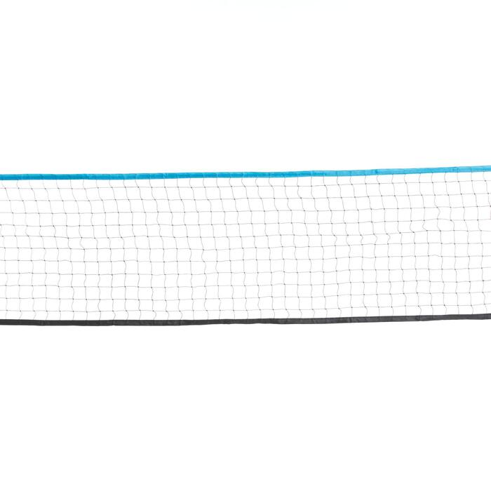 Pack Badminton Easy Set 3 m - Bleu Paon