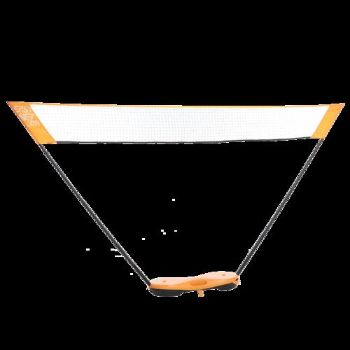 Pack filet de badminton Easy Net 3 m - Orange Pop