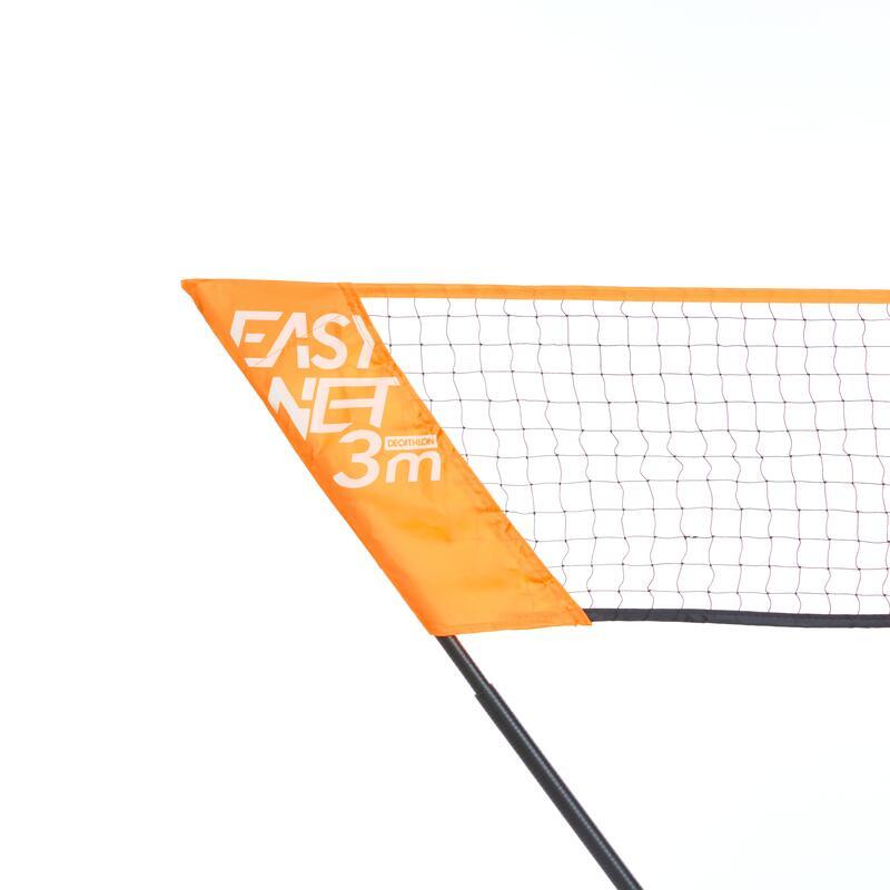 เน็ตแบดมินตันขนาด 3 ม. รุ่น EASY NET (สีส้ม POP)