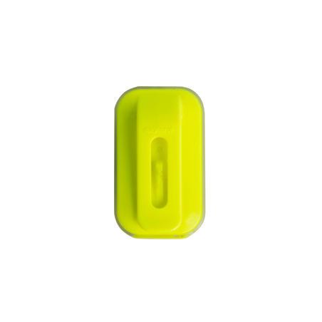 VIOO Clip 500 Front & Rear LED Bike Light Set USB - Yellow