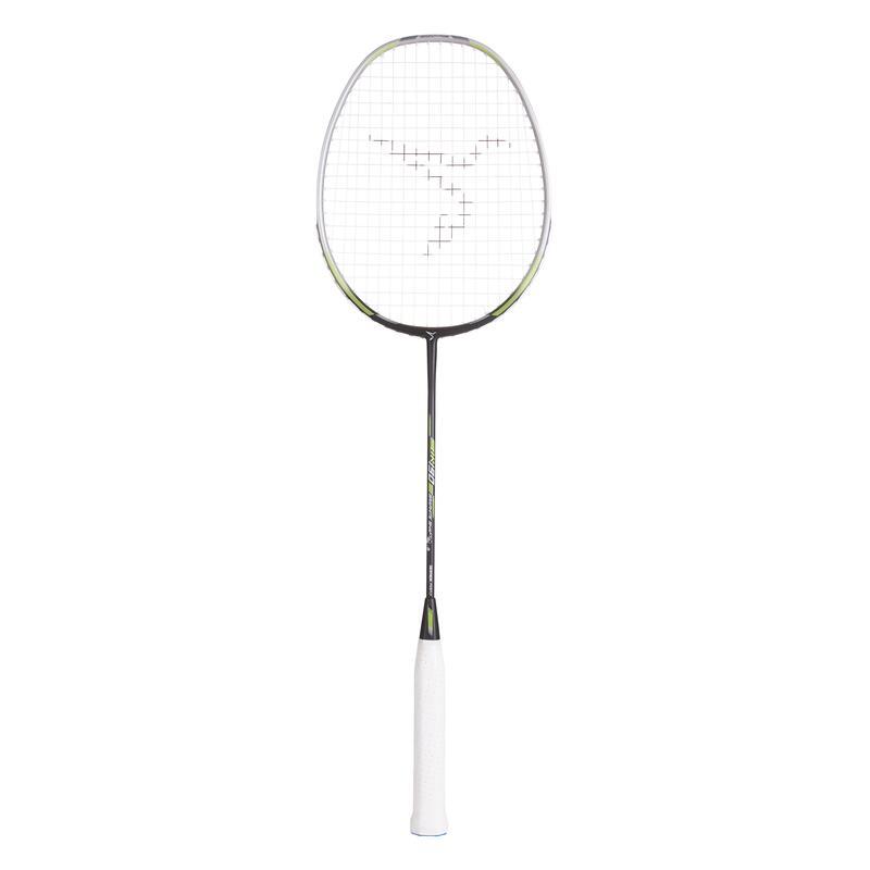 Raquette de Badminton Adulte BR 190 - Argent/Carbone