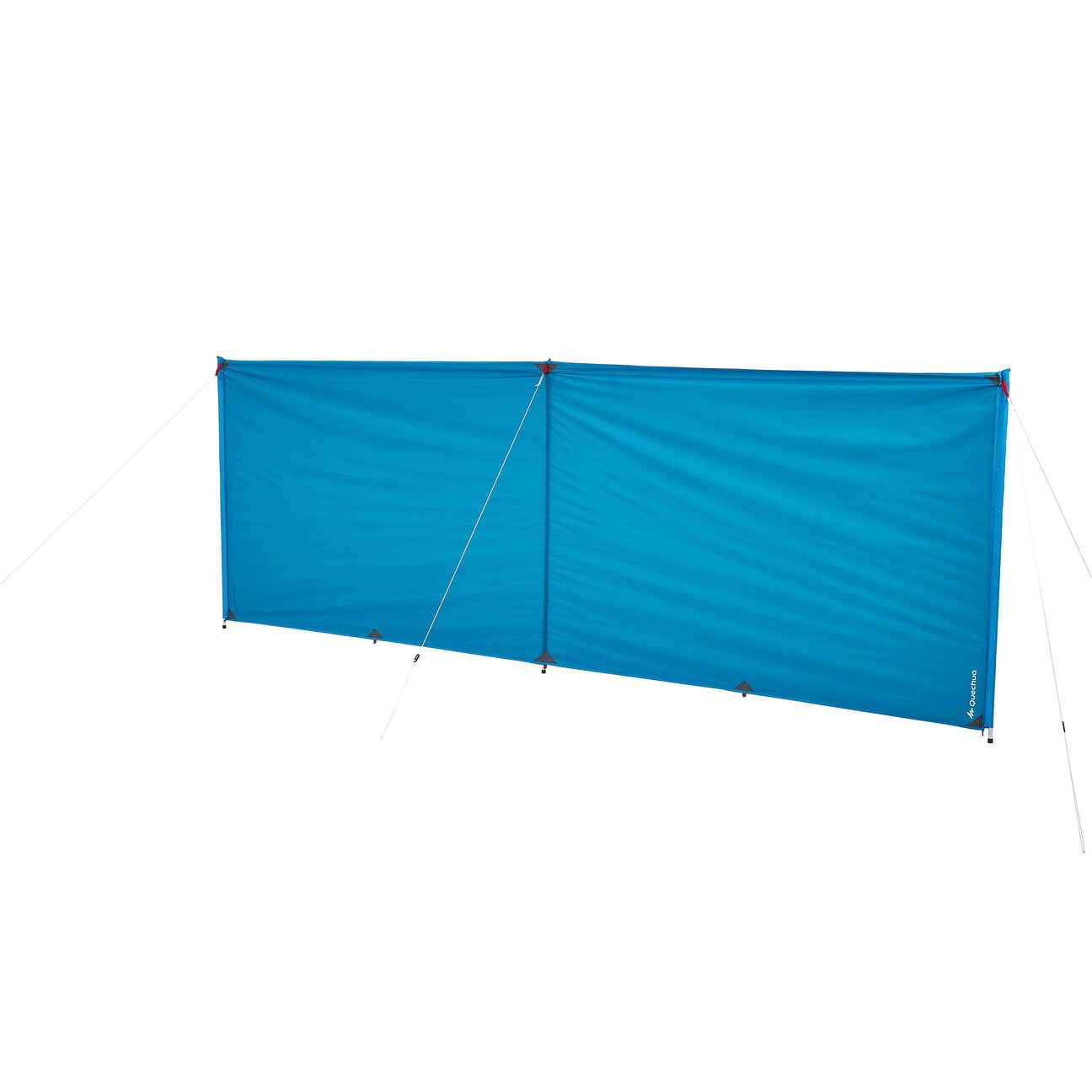 Camping-Windschutz 4×1,45 m für 6 Personen