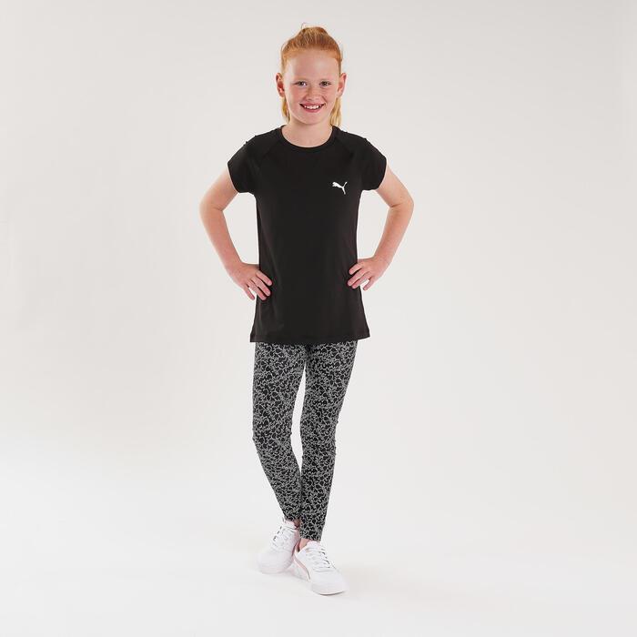 T-Shirt klassischer Schnitt bequem atmungsaktiv Kinder