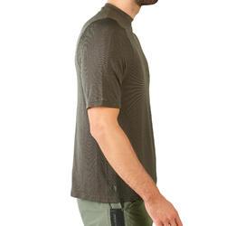 T-shirt chasse manches courtes léger et respirant 500 Vert