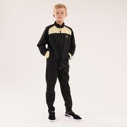 Trainingsanzug Puma Kinder schwarz/gelb