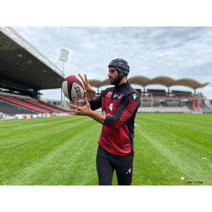 Casque rugby adulte R900 noir