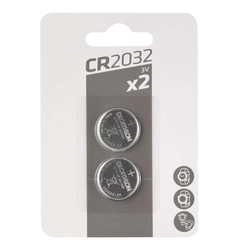 ÎNCĂRCĂTOARE, BATERII ȘI PANOURI SOLARE TREKKING - Baterii CR2032 x 2 FORCLAZ