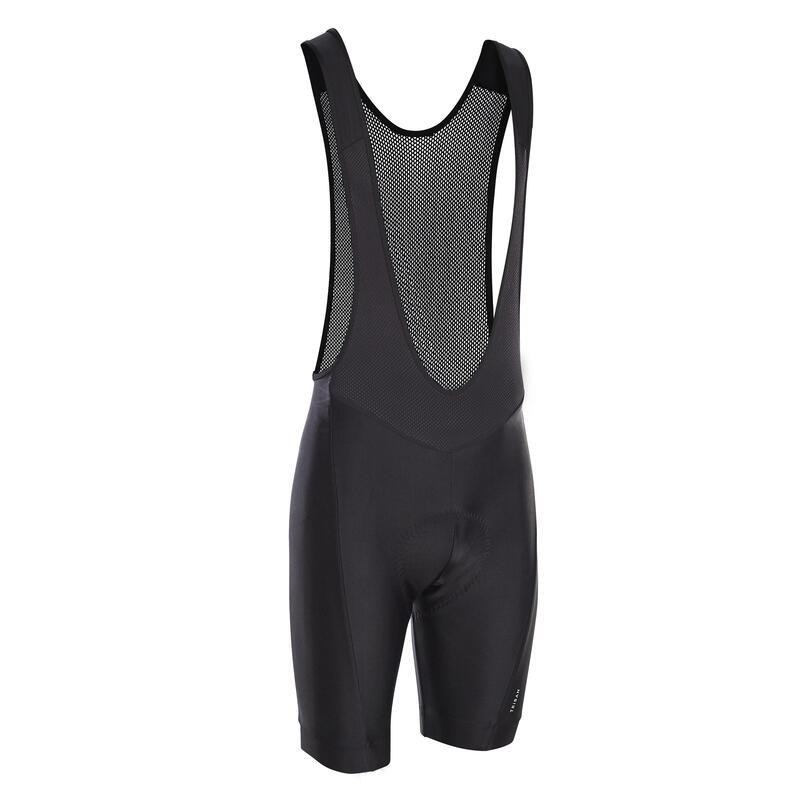 Men's Cycling Bib Shorts RC100 - Black