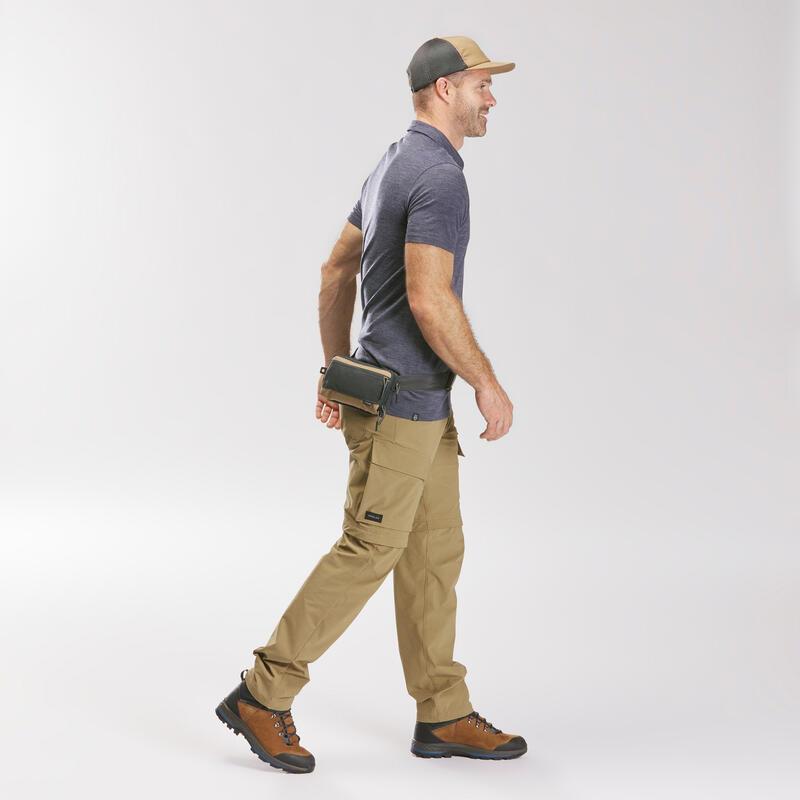กระเป๋าจัดระเบียบขนาดใหญ่สำหรับการเทรคกิ้งรุ่น TRAVEL XL (สีน้ำตาล)