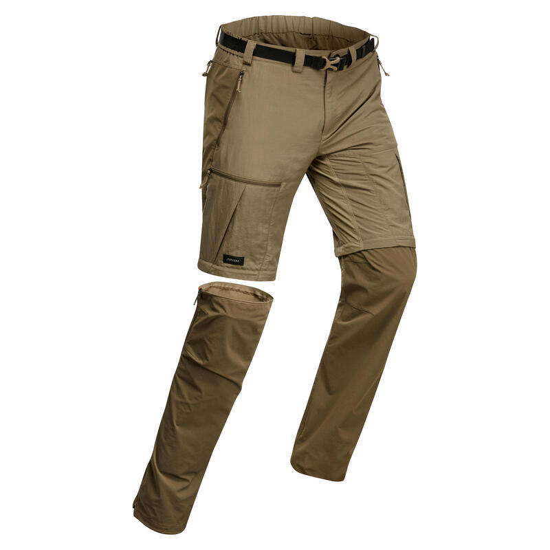 Pantalon modulable et résistant de trek montagne - MT500 homme