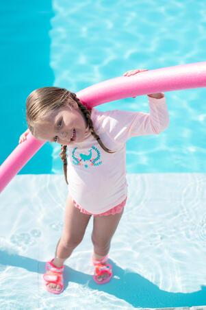 Foam swimming pool noodle 118 cm - pink
