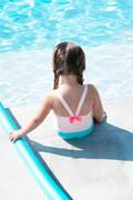 PLAVKY PRO NEJMENŠÍ Plavání - DÍVČÍ JEDNODÍLNÉ PLAVKY RŮŽOVÉ NABAIJI - Plavky do bazénu