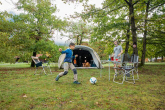 Checklist of camping equipment