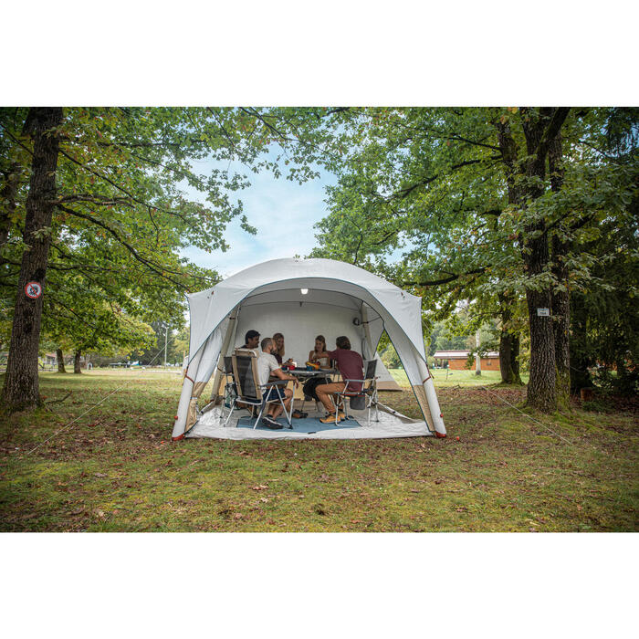 Inflatable Camping Living Area - Base Air Seconds Fresh - 8 Person