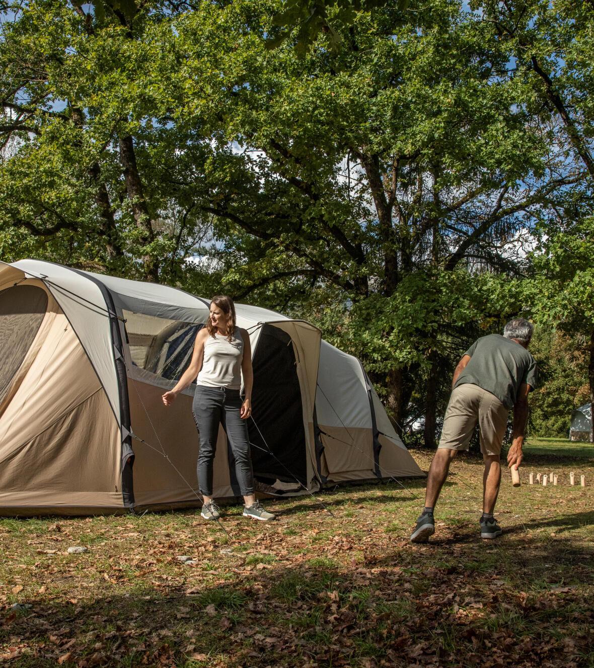 Comment choisir l'emplacement de sa tente en camping ?