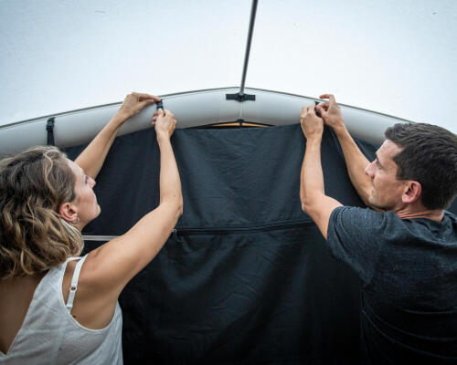TENT DRYING