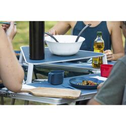 Camping-Tisch Tepee sechseckig und gesellig für 6 Personen