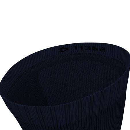 Kiprun Thick Under-Calf Running Socks Dark Blue