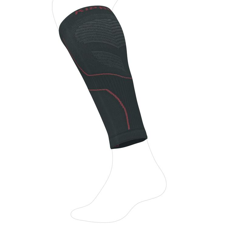 Compression Running Sleeves Grey/Pink