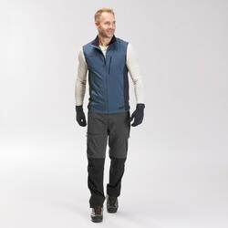 Sous-gants laine mérinos de trek en montagne TREK 500 Bleu marine adulte