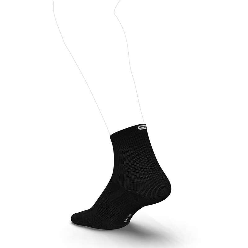 BĚŽECKÉ PONOŽKY DOSPĚLÍ Běh - PONOŽKY CONFORT MID KIPRUN - Běžecké oblečení