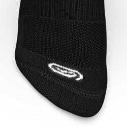 中筒舒適跑步襪,兩雙入 - 黑色