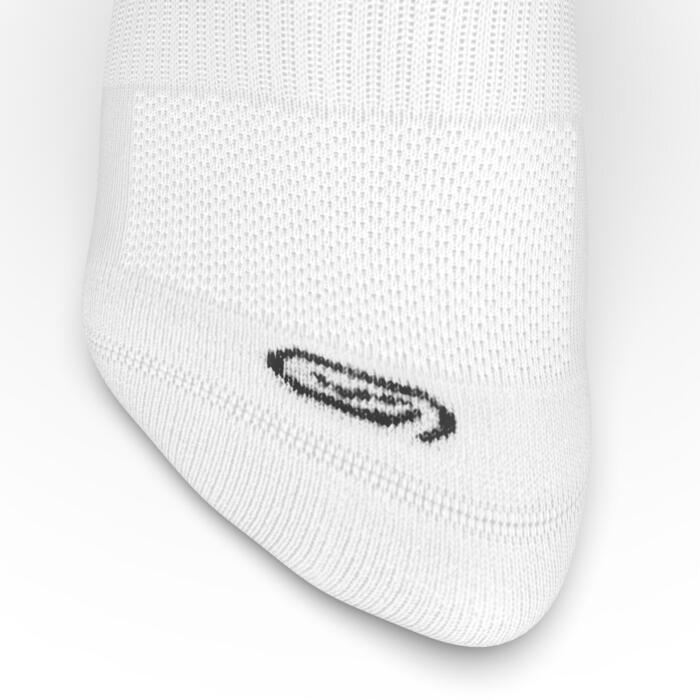 中筒跑步襪COMFORT,兩雙入 - 白色