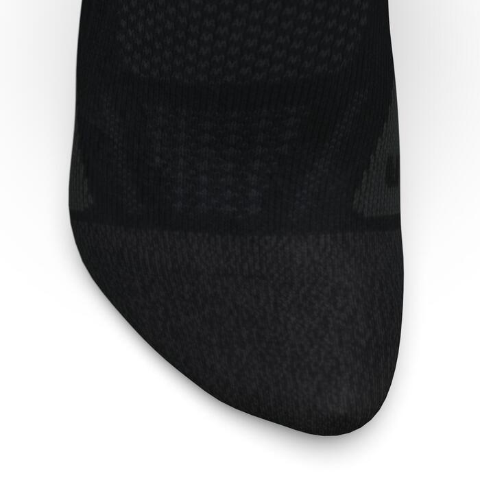 KIPRUN INVISIBLE THIN RUNNING SOCKS - BLACK