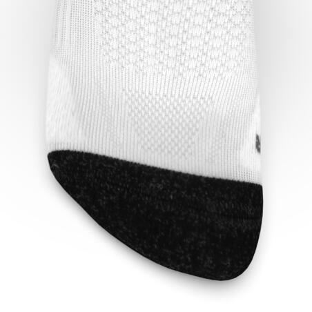 RUNNING MID-HEIGHT THICK SOCKS KIPRUN - WHITE