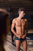 Men's Swimming Bandeau Briefs 900 - Kal Green
