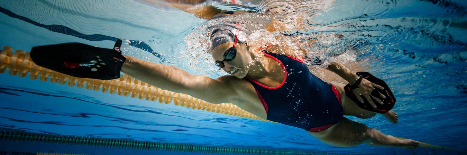 Palmes pour natation neage en eau libre Nabaiji