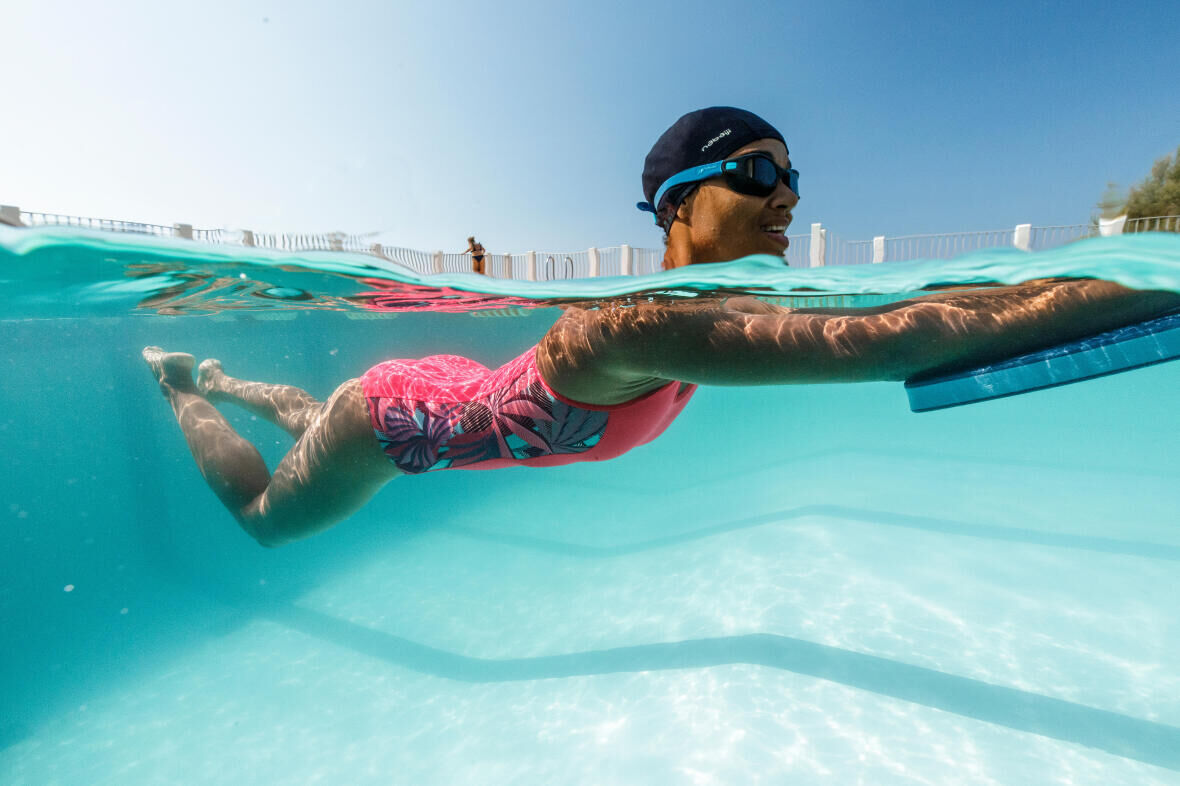 Eight exercises to achieve a slender lower body through swimming